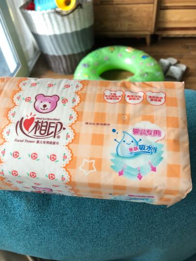 心相印婴儿抽纸 3层120抽面巾纸*18包婴儿纸巾(L plus码 母婴用纸 整箱销售) 晒单图