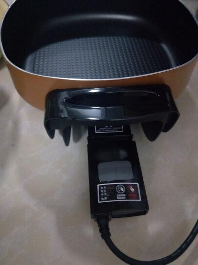 利仁(Liven)5.5L(适合4-6人)韩式电锅多用途锅家用电火锅电炒锅电热锅电煮锅电煎锅不粘锅DHG-40FH 晒单图