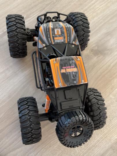 美致模型(MZ) 遥控车 1:14 大脚攀爬车 充电遥控越野汽车四驱大脚车模型儿童玩具送礼佳品 亮橙色 晒单图