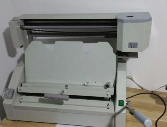道顿 DC-460 A3幅面 无线手动桌面式小型台式胶装机 标书 文件书籍论文报告合同热熔胶粒装订机 晒单图
