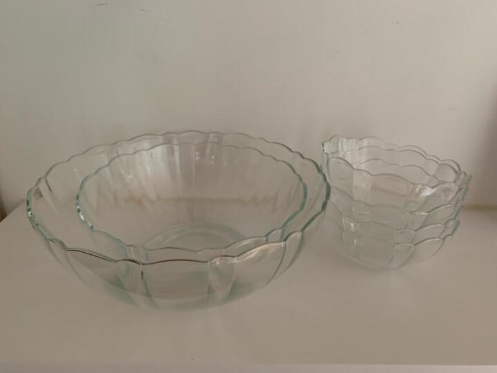 乐美雅(Luminarc)沙拉碗 玻璃碗水果盘微波炉碗泡面碗家用大中小号碗具六件套 E9986 晒单图