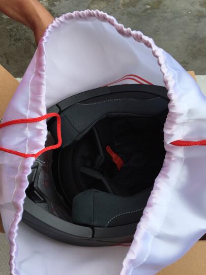 野马(YEMA)925电动摩托车头盔男全盔双镜片揭面盔女 冬季机车安全帽配防雾镜片 四季 L码 白色 晒单图