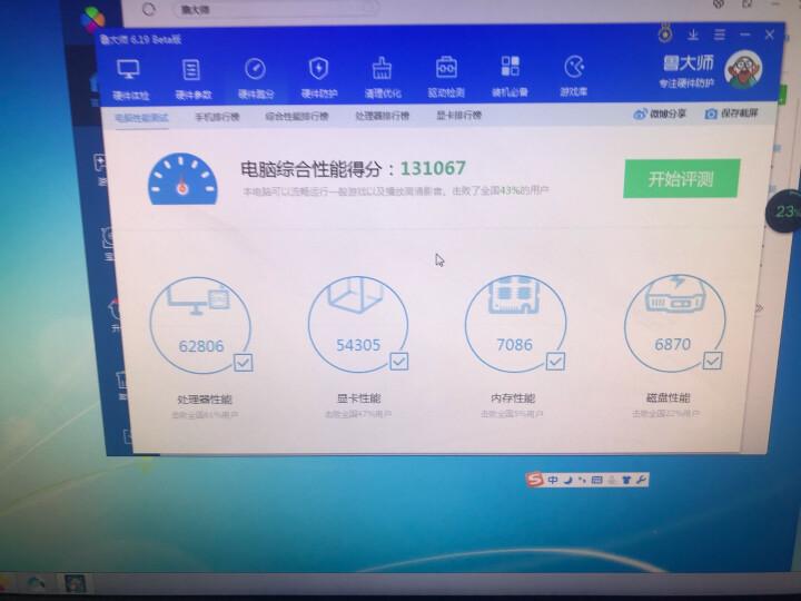 铭影GTX750ti显卡战神2g独立显卡吃鸡游戏显卡台式机电脑显卡 GTX760  4GBD5战狼 晒单图