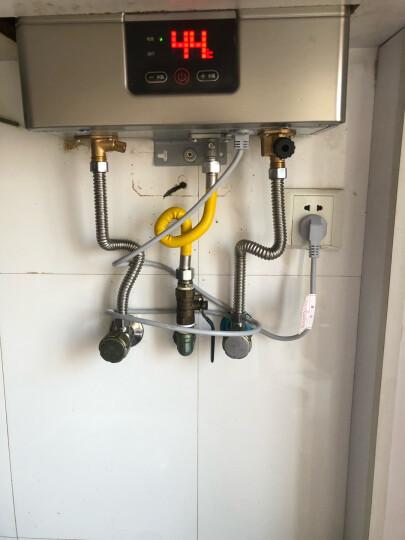 海尔(Haier)13升燃气热水器 变频恒温省气节能安全防护 专利蓝火焰JSQ25-13UT(12T)天然气 晒单图