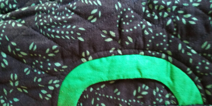 璞衣冬装新款女民族风复古女装外套棉麻风格风格中式青花长款棉衣棉服外套3041 白底花 XL 晒单图