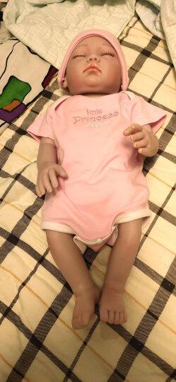 仿真婴儿娃娃全软胶宝宝睡眠洋娃娃仿真娃娃重生婴儿玩具婴儿玩具女孩男孩 俊儿 晒单图