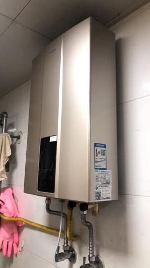 海尔(Haier)12升水气双调精控恒温燃气热水器智能变升随温感四重净化灭菌水箱JSQ24-12WD3(12T)天然气 晒单图