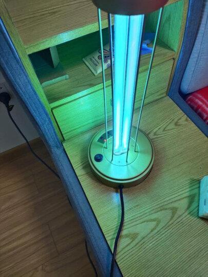 KARELL 卡瑞尔紫外线消毒灯家用 移动式杀菌消毒灯 幼儿园臭氧消毒灯 除螨去异味紫外线灯管 金色遥控(无臭氧) 31-40w 晒单图