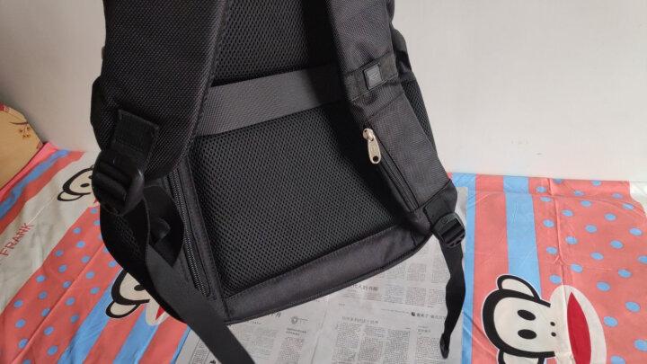 SWISSGEAR加密防盗双肩包 防水商务苹果笔记本电脑包15.6英寸/17英寸男休闲多功能双肩背包书包SA-9393XL黑色 晒单图