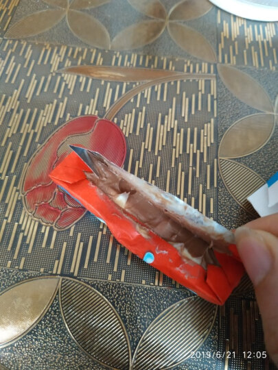 Kinder健达儿童牛奶夹心巧克力8条装100g 晒单图