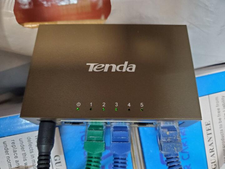 腾达(Tenda)TEG1005D 5口千兆铁壳网络交换机 监控工程 家用宿舍专用分线器 晒单图
