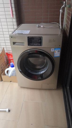 小天鹅(LittleSwan)10公斤变频 滚筒洗衣机全自动  手机智能控制 BLDC变频电机  TG100V20WDG 晒单图