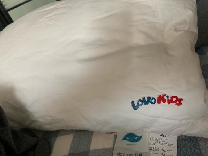 LOVO罗莱生活出品 枕头枕芯 儿童全棉草本决明子荞麦壳枕 40*65cm 晒单图
