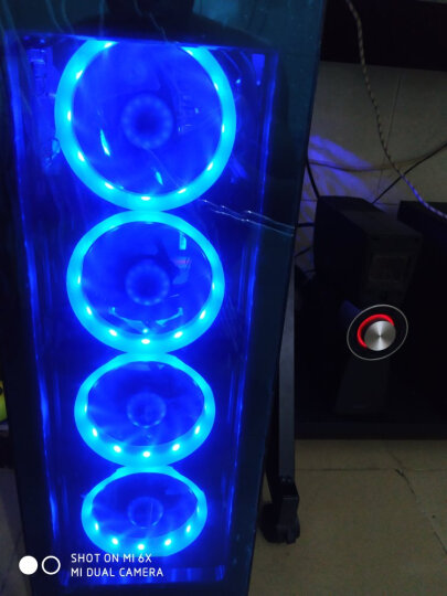 SAHARA 玻璃机箱 海盗系列机箱 撒哈拉DIY台式电脑游戏机箱 水冷风冷方案机箱 海盗P20机箱黑 晒单图