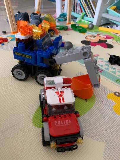 布鲁可积木 大颗粒积木玩具3-5岁 布鲁克百变创意拼搭 男孩女孩积木拼装遥控玩具车百变布鲁可积木车 可可百变气垫船 晒单图