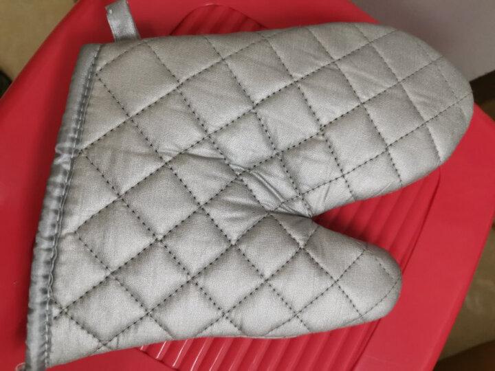杰凯诺烘焙工具专用加厚隔热棉手套 微波炉烤箱专用两只装 晒单图