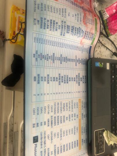 新盟超大鼠标垫子键盘垫电脑桌垫办公笔记本大号可爱卡通海贼王动漫游戏定制加厚桌面垫电竞大垫苹果电脑垫 田园风车900*400mm 精密锁边 晒单图