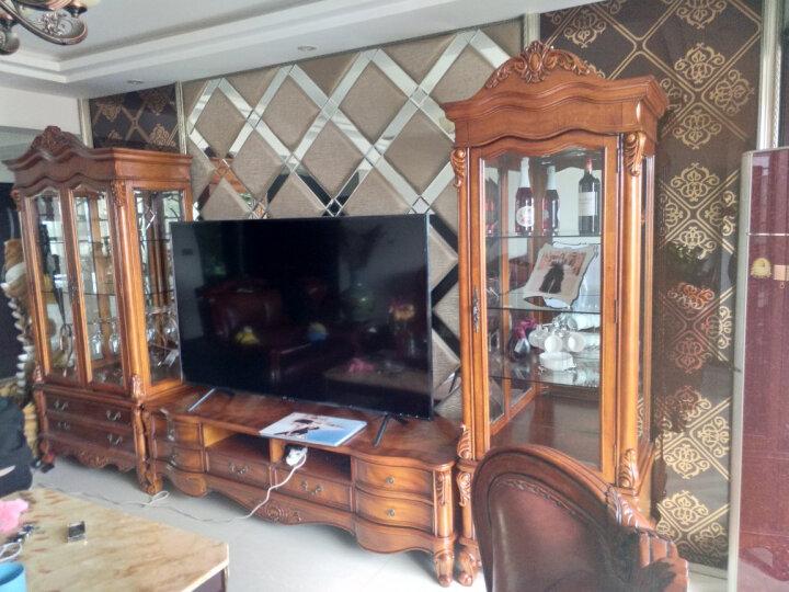 艾理思 客厅家具 欧式电视柜酒柜组合套装 美式实木组合柜 组合 晒单图