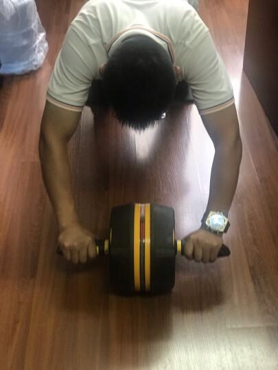 美国斯诺德健腹轮 自动回弹静音巨轮 收腹滚轮腹肌轮健身器材 智能蓝牙APP中国红 晒单图