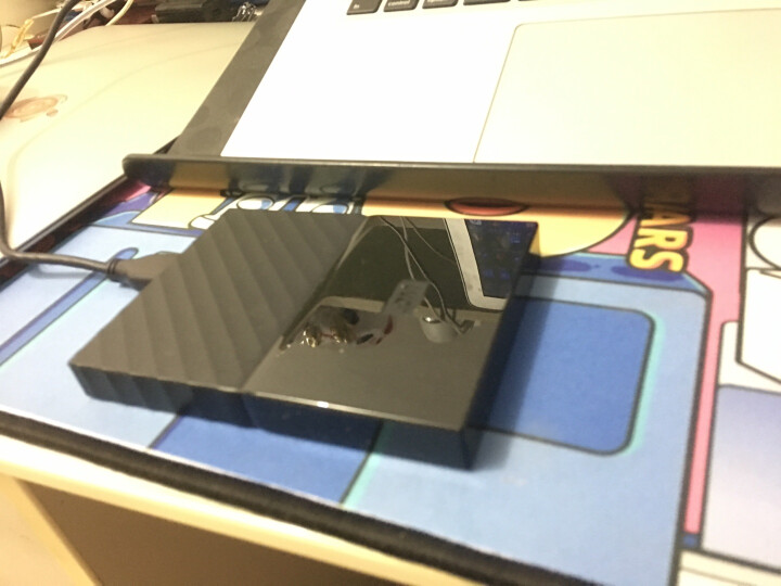 西部数据(WD)1TB USB3.0移动硬盘My Passport  2.5英寸 中国红(密码保护 自动备份)WDBYNN0010BRD 晒单图