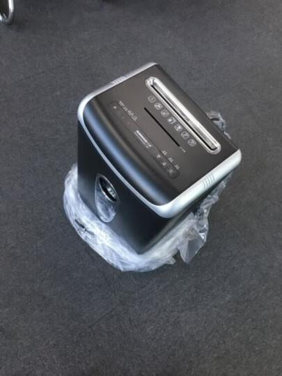 三木(SUNWOOD)S60德国5级保密碎纸机/文件粉碎机 双入纸口 触停保护 可碎钉/卡/光盘 晒单图