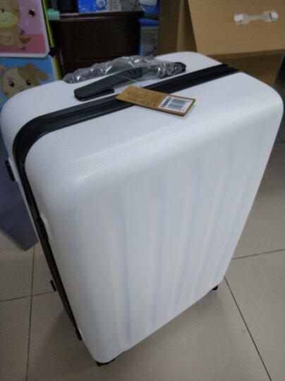 小米(MI)90分旅行箱拉杆箱 男女万向轮行李箱 24英寸 月光白 晒单图