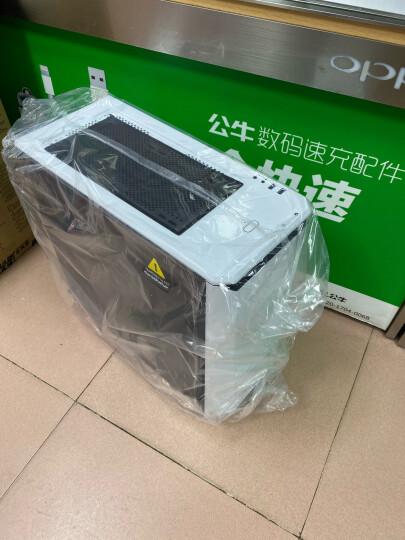 追风者(PHANTEKS) 416PTG白色 钢化玻璃RGB版 水冷电脑电脑机箱(配2把RGB风扇/支持280水冷/背线SSD长显卡) 晒单图