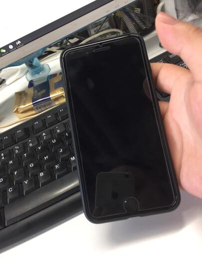 倍思(Baseus)苹果7/8 Plus手机壳iPhone7/8 plus编织高端手机套透气防摔保护套手机全包男女款软壳 5.5英寸红 晒单图