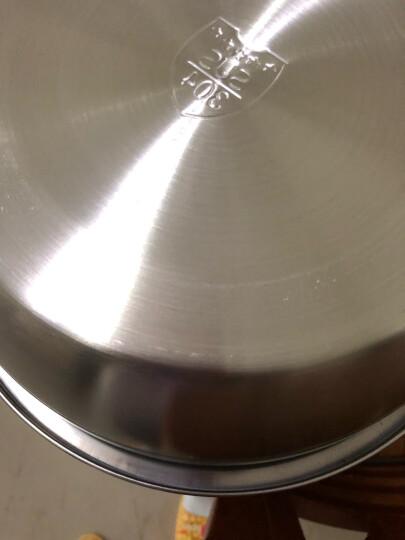 美厨(maxcook)304不锈钢二层蒸锅26cm 可立盖复底送一对手套 燃气炉电磁炉煤气灶通用MCZ478 晒单图