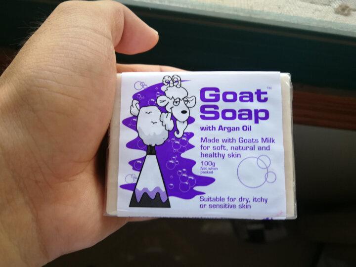Goat Soap 洗手洁面沐浴皂 山羊奶手工香皂 保湿滋润 坚果味 澳洲进口 100g 孕妇婴儿适用 晒单图