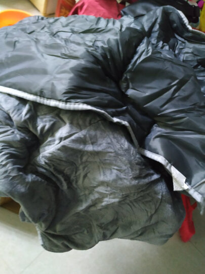 瑞仕达(Restar) 折叠床单人办公室午休床医院陪护简易床单人床户外午睡床躺椅 升级款扁方管+灯芯绒蓝床垫 翘头 晒单图