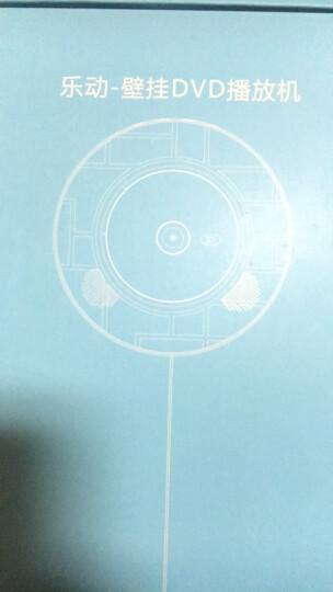 壁挂式CD播放机蓝牙HDMI播放机复古CD机VCD儿童学习DVD光盘专辑播放器影碟机U盘音乐播放机 乐动白色+挂墙支架 晒单图