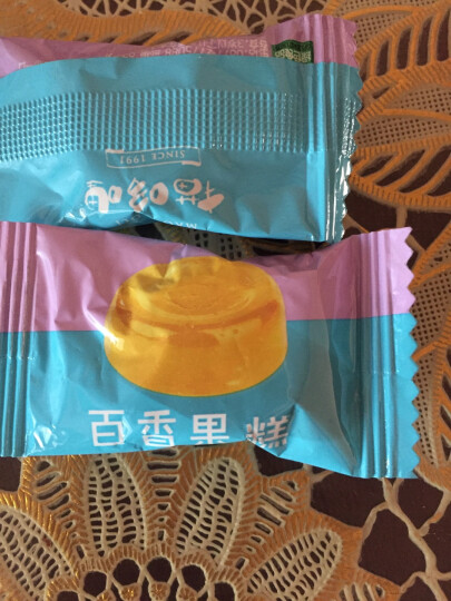 猫哆哩 蜜饯果脯 休闲零食 百香果糕 1000g/盒 晒单图