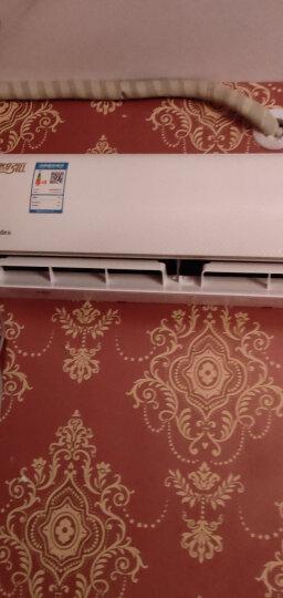 美的(Midea)1.5匹 智弧 智能 静音 光线感应 定速冷暖 壁挂式卧室空调挂机 KFR-35GW/WDAD3@ 晒单图