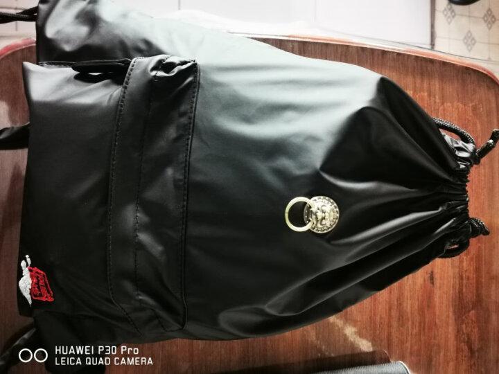 初弎护照本保护套潮牌男复古中国风狮子头牛皮套多卡位卡包44060 黑狮 晒单图