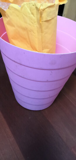 vivian 大号垃圾桶 垃圾纸篓 办公家用无盖塑料卫生桶 WWA-1105 晒单图