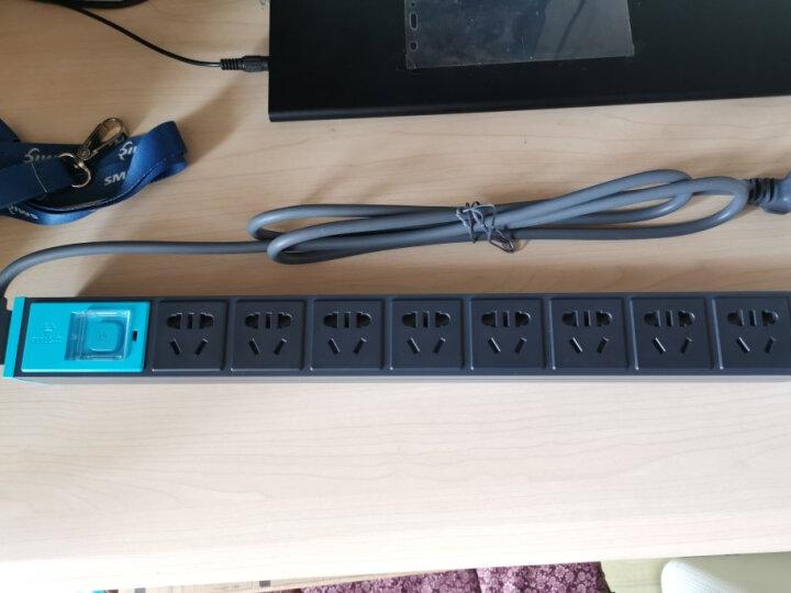 公牛(BULL)PDU机柜插座/插线板/插排/排插/接线板/拖线板 8位总控全长1.8米 GNE-1080 晒单图