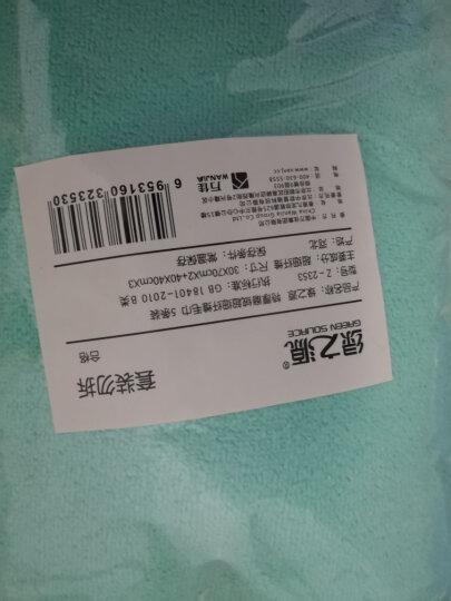 天气不错 高品质超细纤维洗车毛巾 擦车毛巾吸水毛巾 60*160cm 蓝色+棕色两条装 汽车用品 晒单图