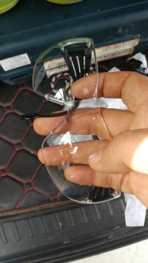 3M 11394 运动型防护眼镜 防紫外线 旅游骑行必备单品 防雾 防尘 防沙 护目镜 透明  1副 晒单图