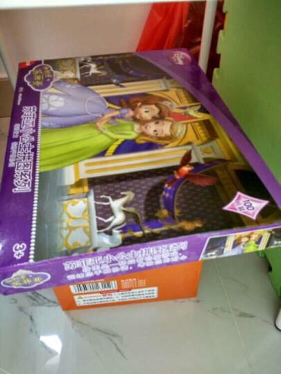 迪士尼(Disney) 苏菲亚100片拼图 儿童拼图女孩益智玩具11DF1003594(古部索菲亚公主拼图) 晒单图