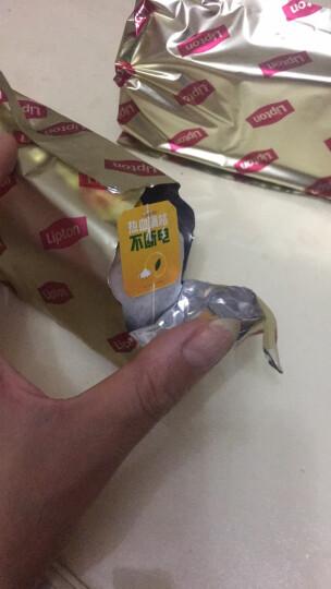 立顿Lipton  红茶 茶叶 黄牌精选红茶50包100g 袋泡茶茶包 办公室休闲下午茶(新老包装随机发货) 晒单图