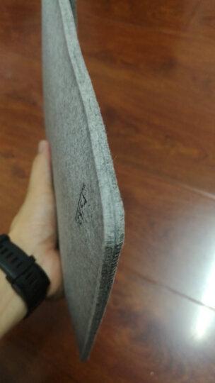信发(TRNFA)MZ-171 竖款蓝色A4毛毡文件袋/手拿粘贴文件套 创意办公生活资料收纳包/IPAD保护套袋 晒单图
