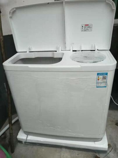 美菱(MELING) 9公斤大容量双桶洗衣机 省水省电 下排水 小型白色家用 XPB90-22Q1S 晒单图