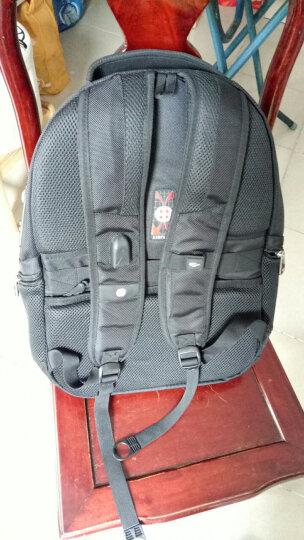 CROSSGEAR 加密防盗 双肩包 休闲商务15.6英寸电脑包 男女背包旅行包CR-9004咖啡色 晒单图