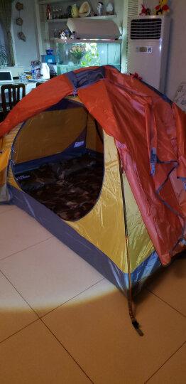 牧高笛 野外露营防风防暴雨三季铝杆双人双层帐篷 冷山2 驴友强推 MZ093005 红色 晒单图
