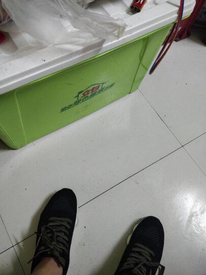 安踏男鞋  新款缓震跑步鞋 时尚织物运动鞋91745508 黑/深灰/金属金-2 6.5(男39) 晒单图