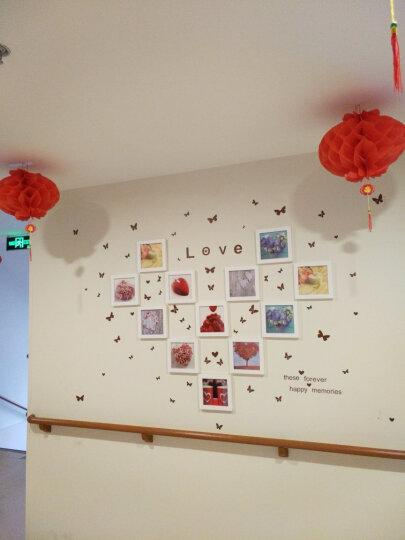 森淼 蓝丁胶照片墙相框墙组合相片墙无痕不伤墙 45克单包装 1盒装 晒单图