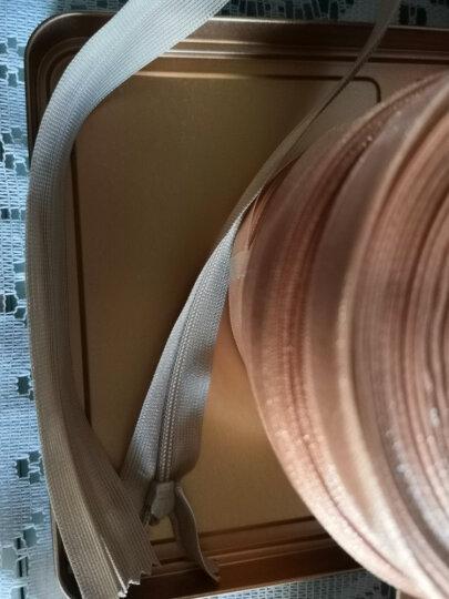 迈利达 25CM-60CM隐形拉链 女装婚纱裙子裤子拉链 3#隐形闭尾拉链 蕾丝边拉链 深蓝一条 60cm 晒单图