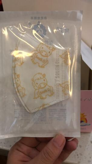 南丁口罩儿童口罩一次性防雾霾2岁3岁一次性口罩儿童单个装防雾霾1岁保暖防细菌儿童口罩一次性独立包装 幼儿可爱马(50只/盒) 晒单图