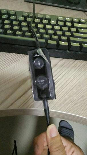 金士顿(Kingston) HyperX 黑鹰S 杜比7.1 游戏电竞耳机头戴式 电脑耳机 吃鸡神器 Revolver S 绝地求生耳麦 晒单图